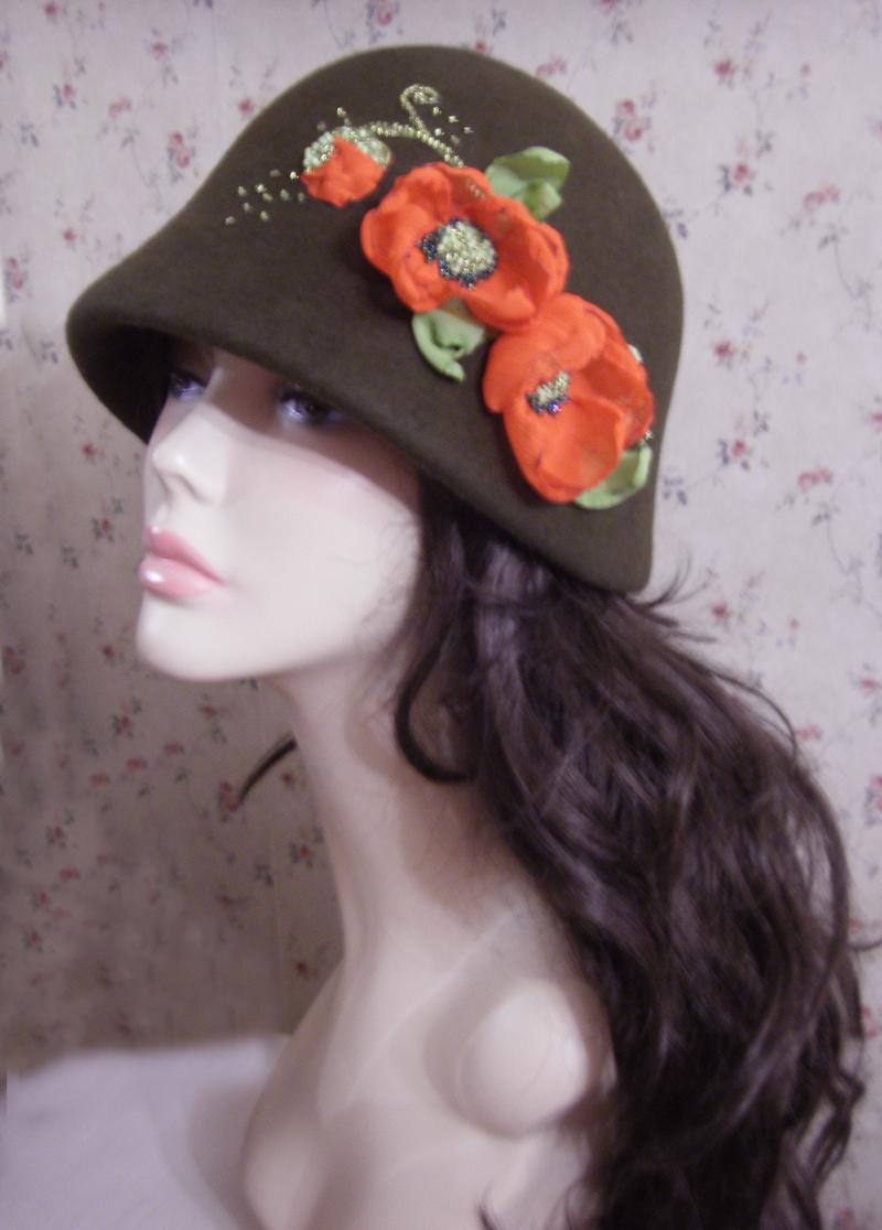 Как сшить шляпу из фетра мастер класс 277